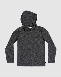 Quiksilver - Boys 8-16 Kentin Long Sleeve Hooded T Shirt