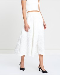 FRIEND of AUDREY - Brooke Textured Full Skirt
