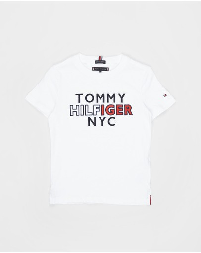 Tommy Hilfiger - TH NYC Graphic SS Tee - Kids