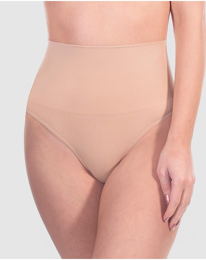 B Free Intimate Apparel Power Shaping Thong Nude