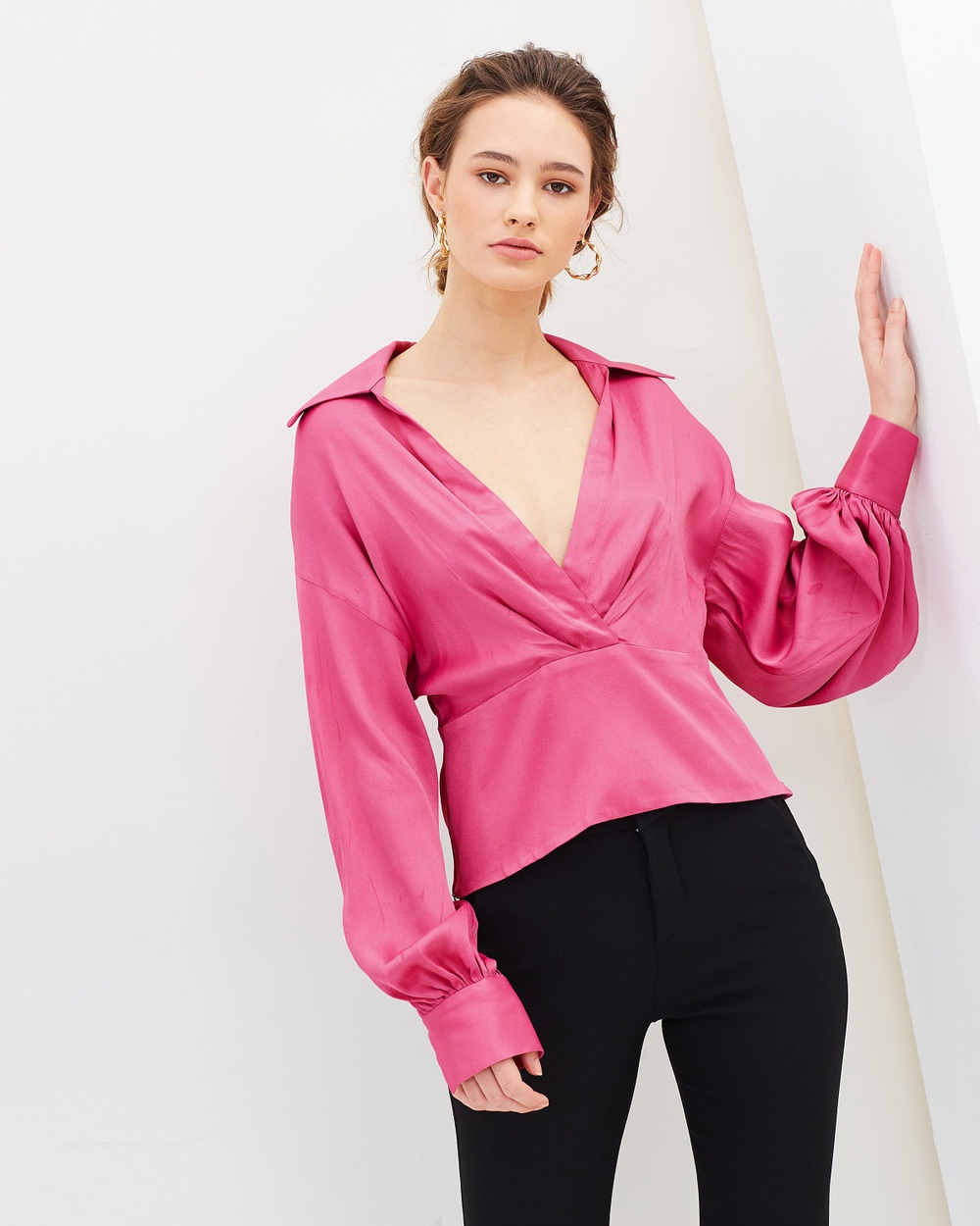 Manning Cartell Status Update Blouse Tops Hot Pink Status Update Blouse