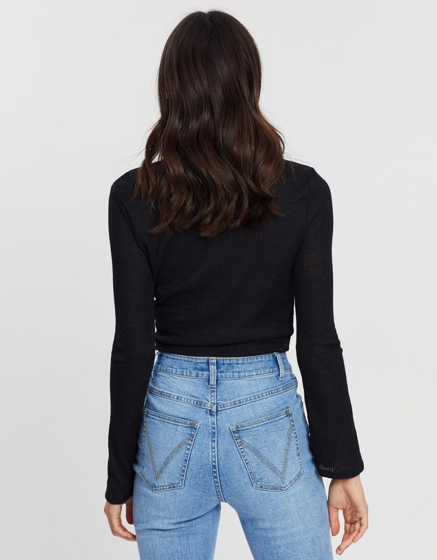 Dazie - Better Together Button Top