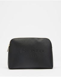 Ted Baker - Lieaah Crosshatch Deboss Makeup Bag
