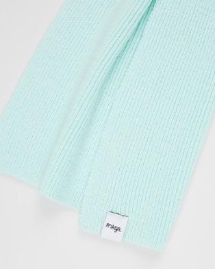 Mcintyre Wannon Long Merino Wool Scarf - Scarves & Gloves (Mint)