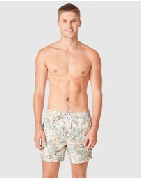 French Connection - Flamingo Board Shorts