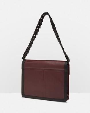 Oxford - Madeline Shoulder Bag - Handbags (Wine/Black) Madeline Shoulder Bag