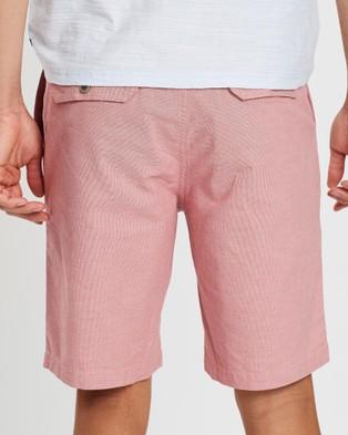 Rodd & Gunn Back River Shorts - Chino Shorts (Cardinal)