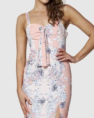 Amelius - Siren Song Midi Dress - Printed Dresses (Multi) Siren Song Midi Dress