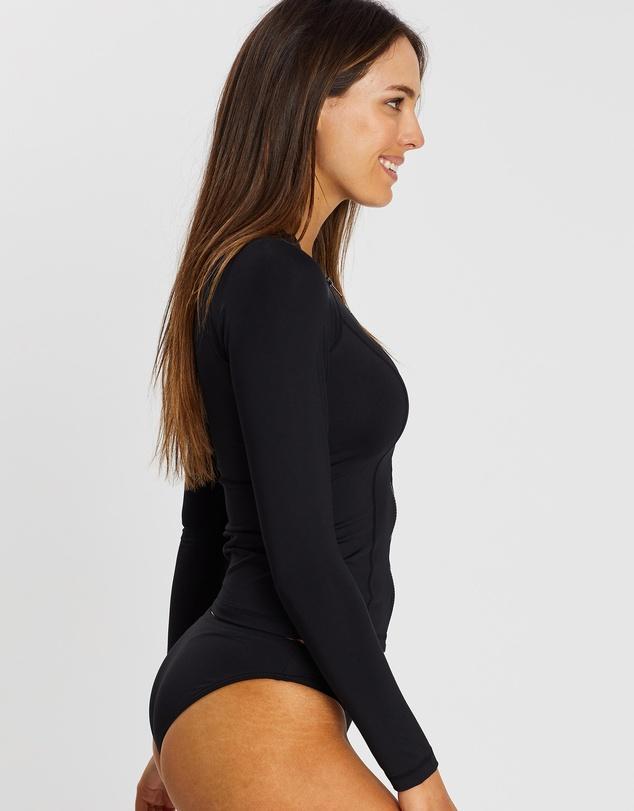 Women Long Sleeve Rash Vest