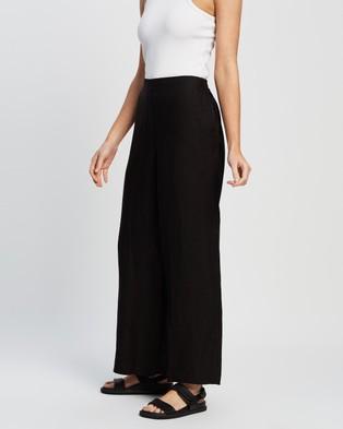 Andrea & Joen Ebony Trousers Pants Black