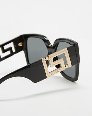 Versace 0VE4402 - Sunglasses (Black)
