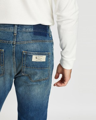 Kent and Curwen Classic Jeans - Slim (Blue)