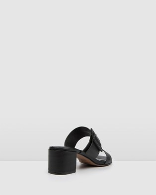 Jo Mercer Rain Low Slides - Sandals (Black)
