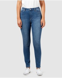 Jeanswest - Freeform 360 Contour Curve Embracer High Waisted Skinny Jeans True Blue