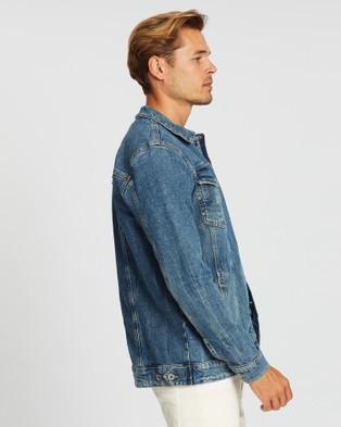 Outland Denim Smith Jacket - Denim jacket (Distilled Blue)