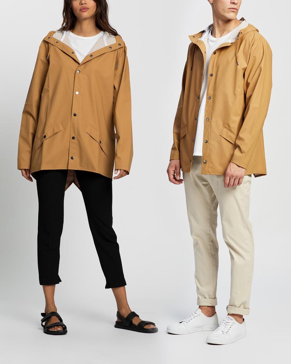 RAINS Jacket Coats & Jackets Khaki