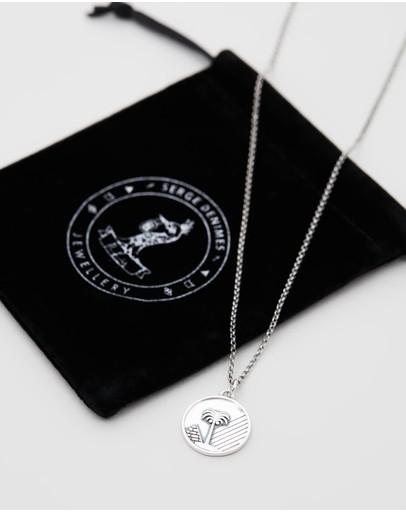 Serge Denimes Sahara Necklace Silver