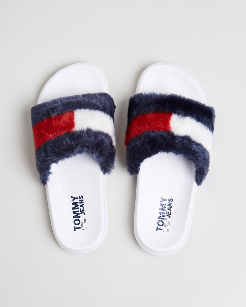 1264eb73e Funny Fur Pool Slides - Women s by Tommy Hilfiger Online