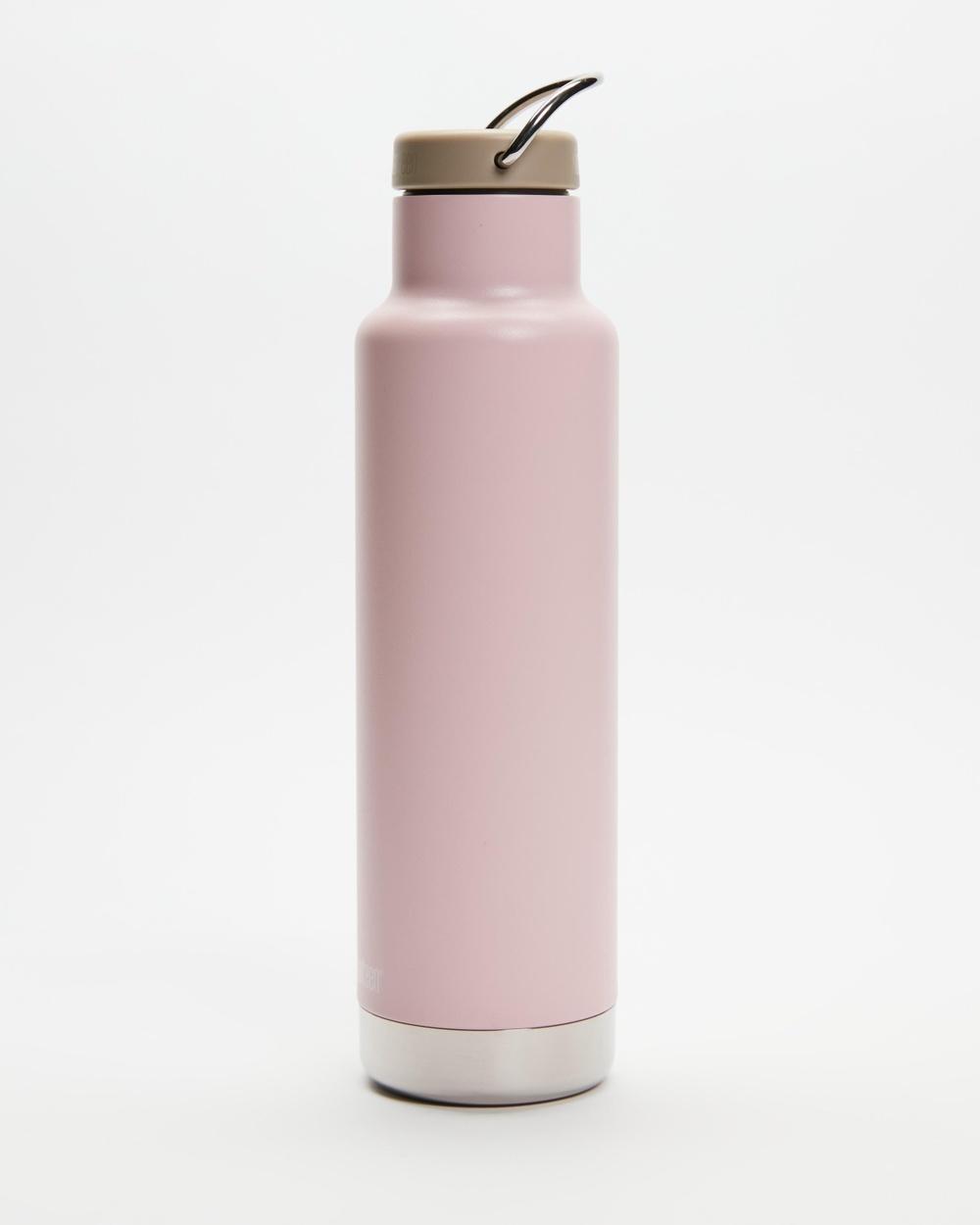 Klean Kanteen 20oz Insulated Classic Loop Cap Bottle Water Bottles Lotus