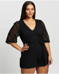 Atmos&Here Curvy - Anya Playsuit