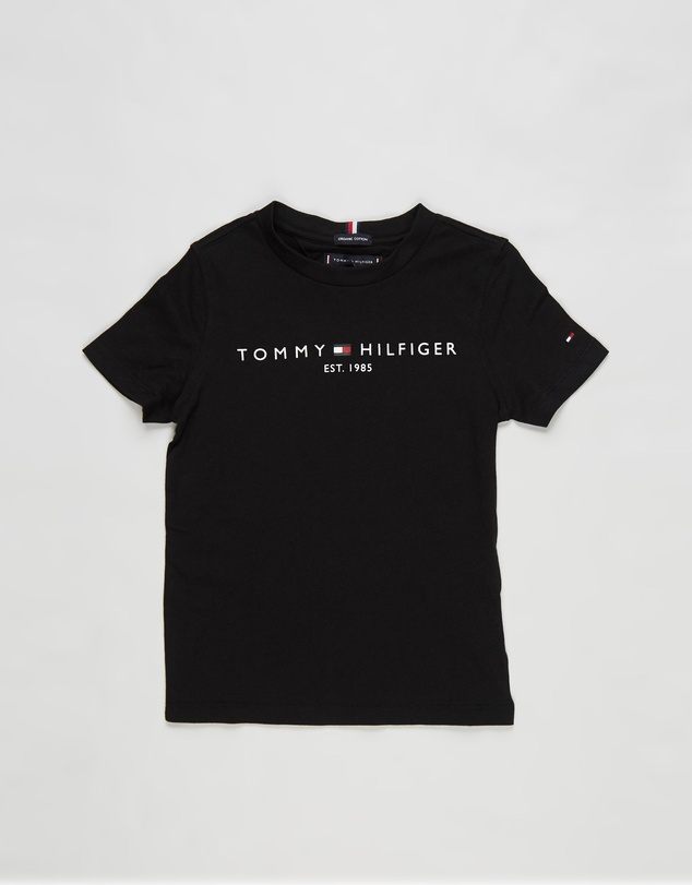 Tommy Hilfiger - Essential Logo Short Sleeve Tee - Kids