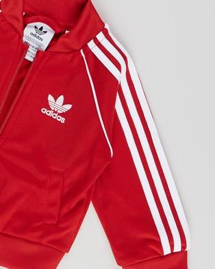 adidas Originals Adicolor SST Tracksuit   Babies Kids - Sweatpants (Scarlet & White)