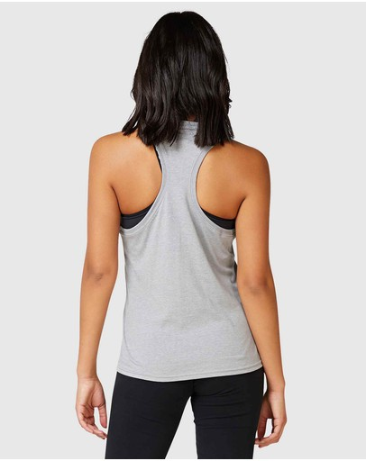 Superdry Sport Core Graphic Vest Grey Marle