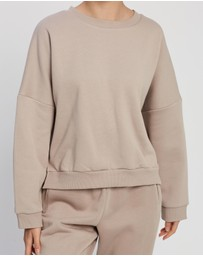Nude Lucy - Carter Classic Oversized Sweat