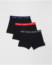 Calvin Klein - ​3-Pack Cotton Stretch Trunks