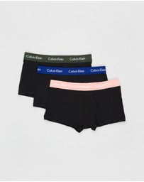 Calvin Klein - 3-Pack ​Low Rise Trunks