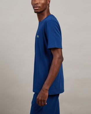 BOSS Mix&Match T Shirt - Sleepwear (Medium Blue)