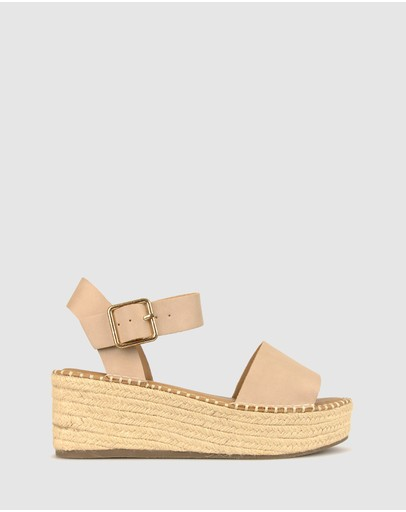 Betts - Bali Rope Flatform Sandals