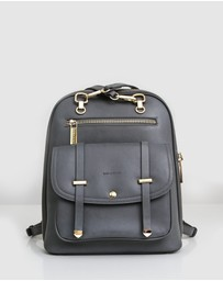 Belle & Bloom - 5th Ave Leather Backpack