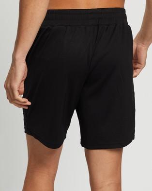 ASICS 7 Inch Knit Train Shorts Performance Black 7-Inch