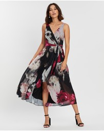 Montique - Georgia Floral Wrap Dress