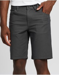 Volcom - Solver Canvas 5-Pocket Shorts