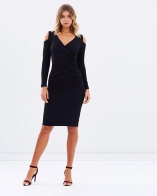 Fresh Soul – Metaphor Dress – Bodycon Dresses Black