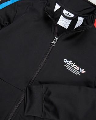 adidas Originals Adicolour Primeblue Tracksuit   Kids - Sweatpants (Black)