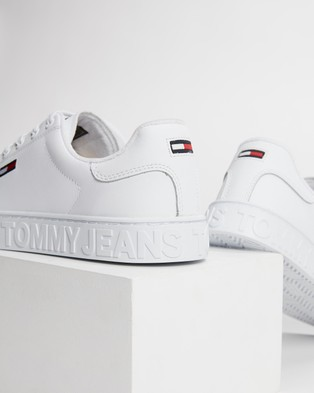 Tommy Hilfiger Cool Tommy Jeans Cupsole Sneakers   Women's - Sneakers (White)