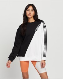 adidas Originals - Adicolor Sliced Trefoil Sweatshirt