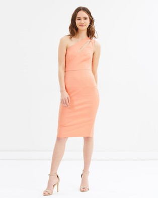 Grace Willow – Natalie One Shoulder Dress Petal