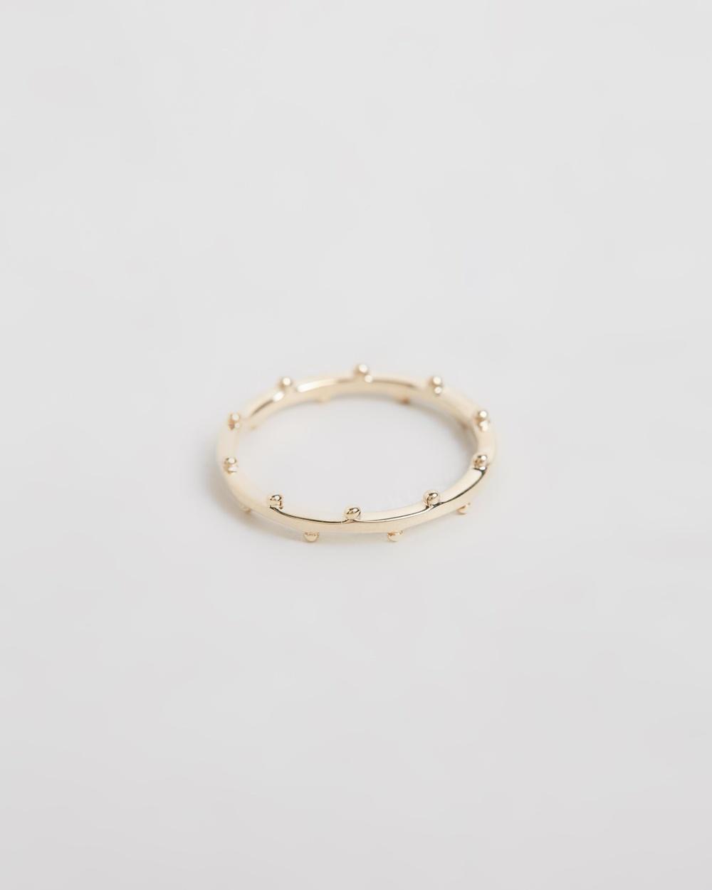 Natalie Marie Jewellery Kadhi Cuff 9ct Yellow Gold