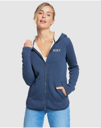 Roxy - Womens Slopes Fver Zip Up Hoodie
