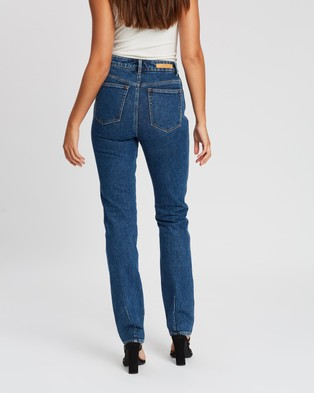 Neuw Marilyn Straight Jeans - Slim (Zero Moss Blue)