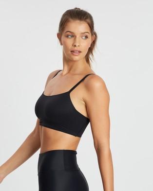 Nike Indy Luxe Bra - Crop Tops (Black & White)