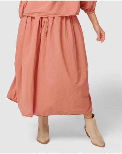 Primness Ruby Skirt Dusty Rose