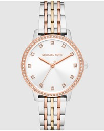 Michael Kors - Outlet Melissa Two Tone Analogue Watch