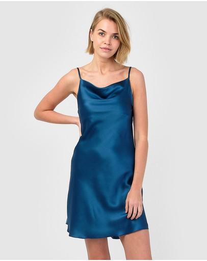 Sleepy Dee Dreamer Dress Marine Blue