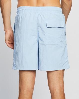 Lyle and Scott Plain Swim Shorts - Swimwear (Pool Blue)
