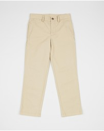 Polo Ralph Lauren - Slim Fit Cotton Chino Pants - Kids